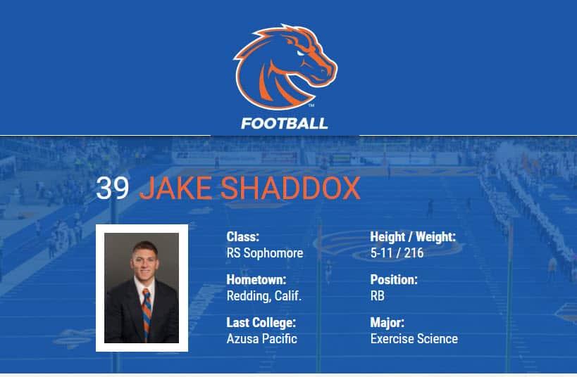 Jake Shaddox - BSU